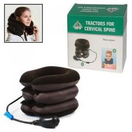 Tractors For Cervical Spine, Надувная подушка для шеи с насосом, ортопедический воротник при остеохондрозе Brown