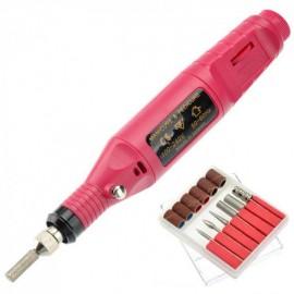 Мини Фрезер Variable Speed Rotary Detail Carver c адаптером переменного тока для маникюра и педикюра