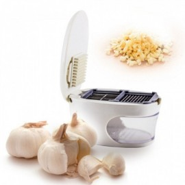 Измельчитель чеснока 3 в 1 Garlic Press чесночница, чеснокодавка