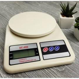 Электронные цифровые весы SF-400, 10 кг для кухни
