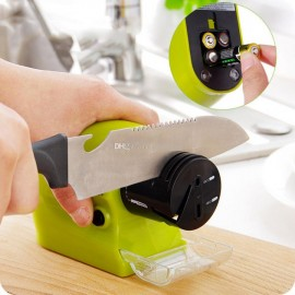 Электрическая точилка для ножей и ножниц Swifty Sharp на батарейках
