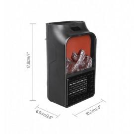 Портативный мини Обогреватель Камин Flame Heater Original 900W