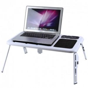 Столик для ноутбука с охлаждением складной E-Table