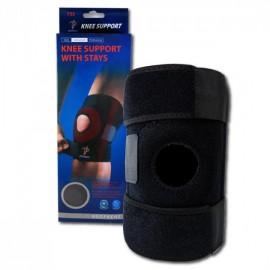 Наколенник-бандаж Knee support with stays YC 733 стабилизатор для коленной чашечки со спиральными ребрами жесткости