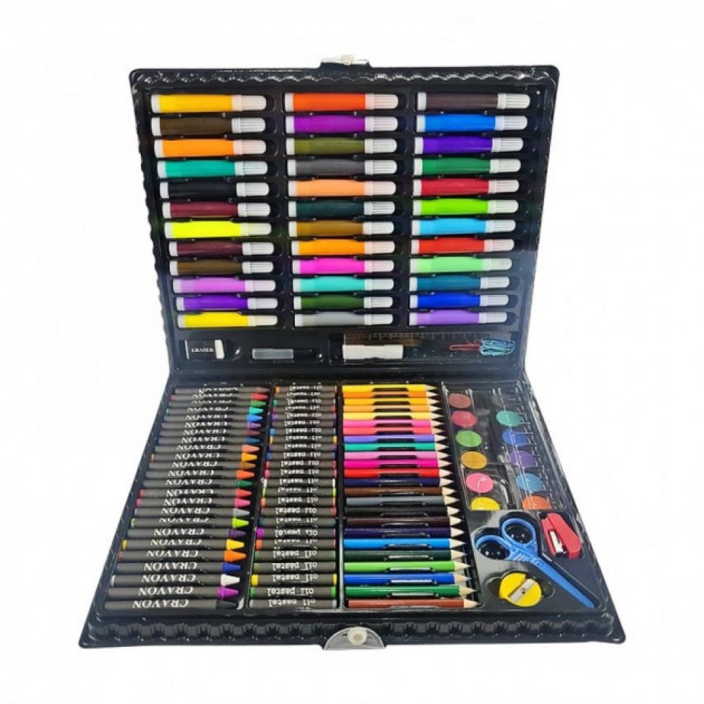Детский художественный набор для рисования и творчества на 150 предметов