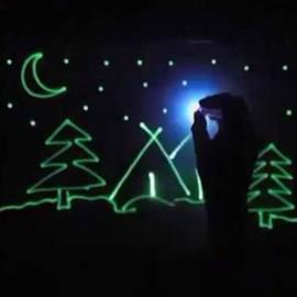 "Набор для творчества ""Рисуй светом"" формата А5"