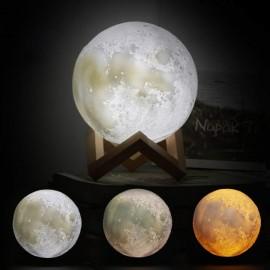Ночной светильник Ночник в виде Луны Ночник детский 3D Moon Light