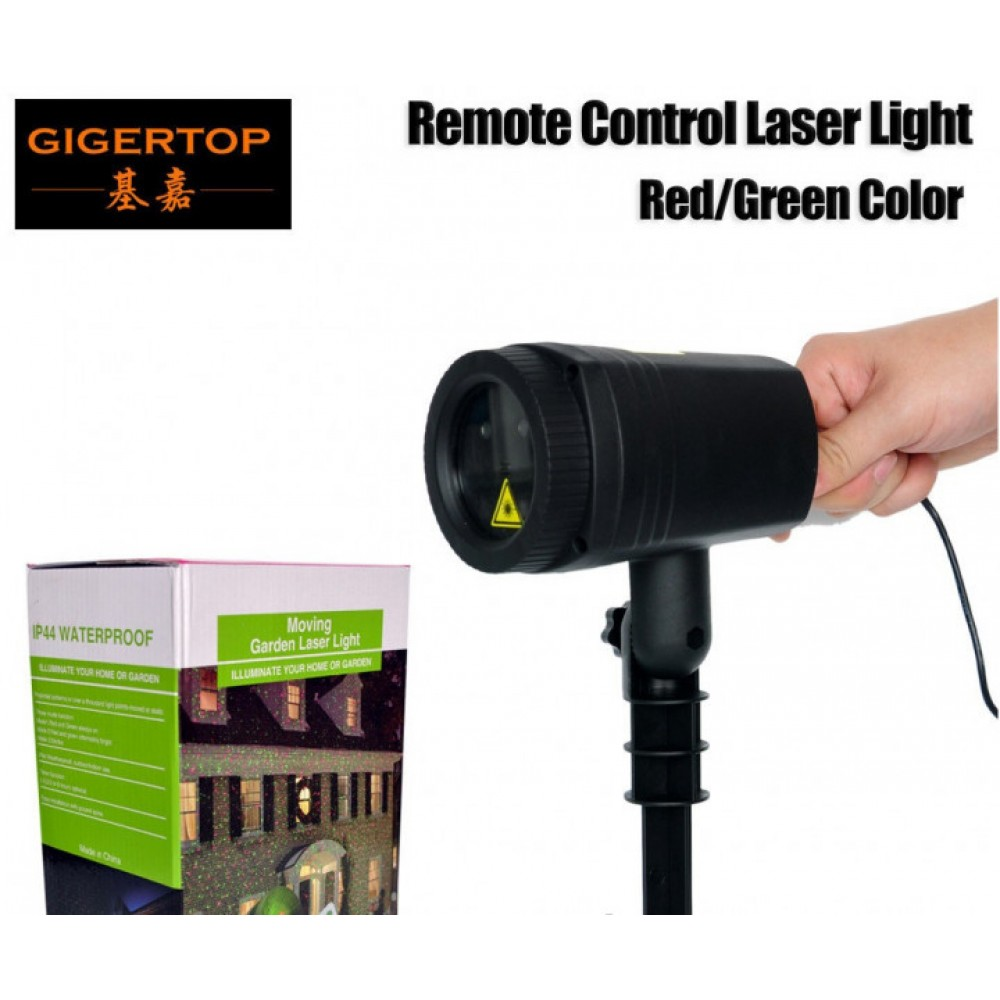 Уличный декоративный лазерный проектор Moving Garden Laser Light