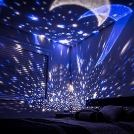 Проектор звездное небо Star Master ночник шар