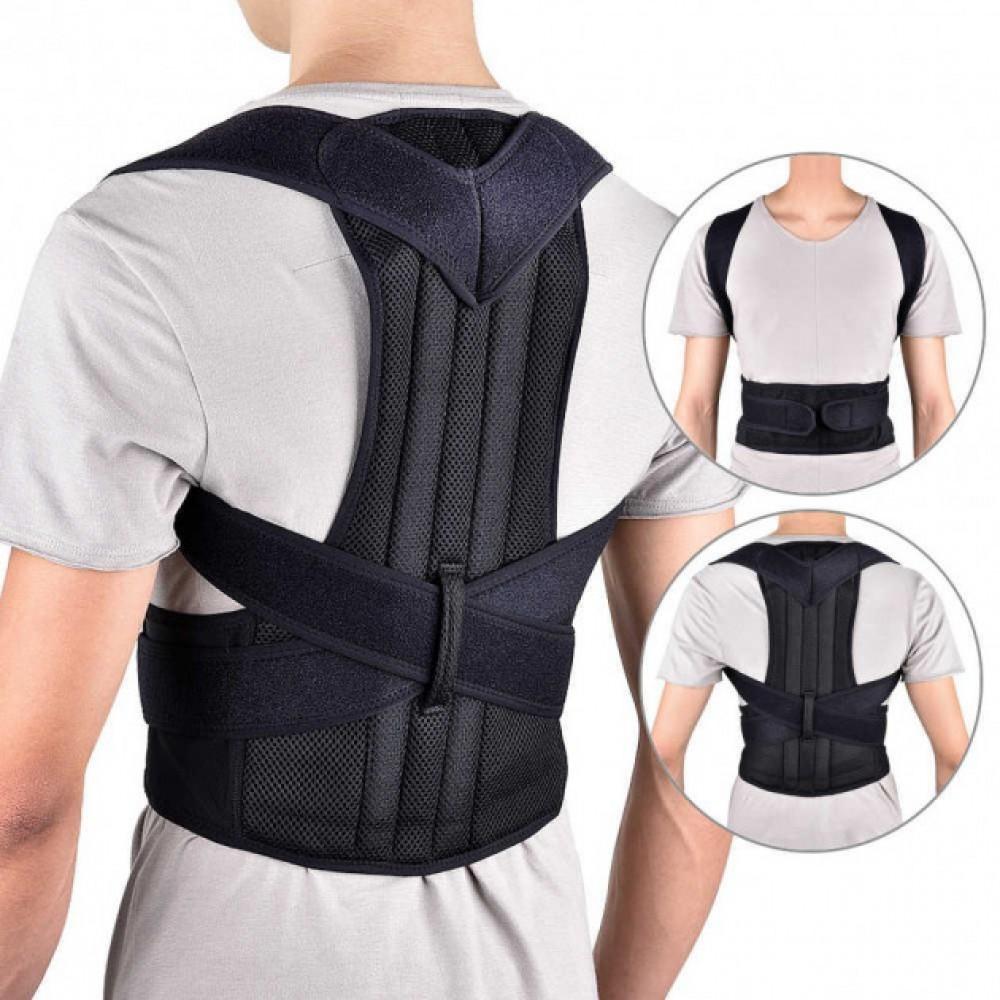 Корректор осанки корсет для спины (ортопедический корректирующий жилет)