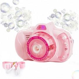 Детский фотоаппарат генератор для мыльных пузырей Bubble Camera