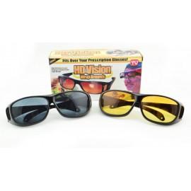 Антибликовые очки для водителей HD Vision (2 пары)