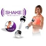 Виброгантель гантеля тренажер для фитнеса Supretto Shake Weight 1.1 кг виброгантеля